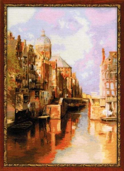 Амстердам. Канал Аудезейтс