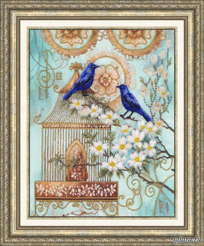Вышивки крестом наборы птицы 21