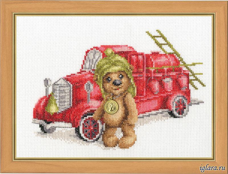 Плюшевый пожарный