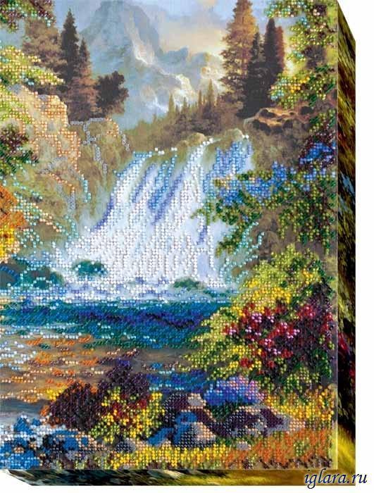 Набор для вышивания водопадов