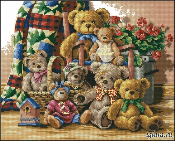 Собрание плюшевых мишек (Teddy