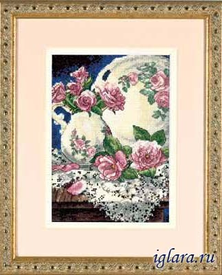 6929/Розы и кружева (Lace and Roses)