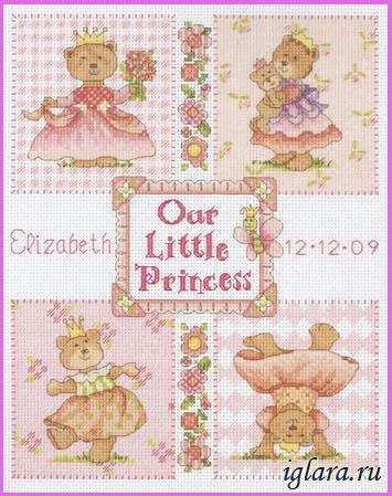 73425/������ � ��������. ��������� ��������� (Baby Princess Birth Record)